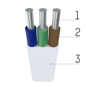 АВВГ-П 3х1,5 Прикарпаткабель
